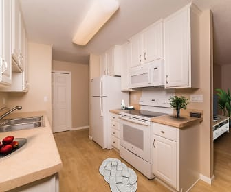 Kitchen, Carriage House Apartments