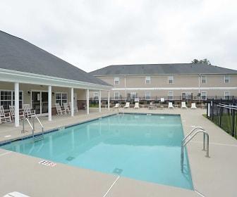 Pool, Church Street Apartments