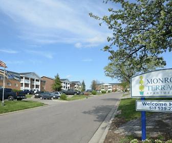 view of community / neighborhood sign, Monroe Terrace
