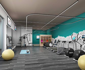 Fitness Center, Courthouse Lofts