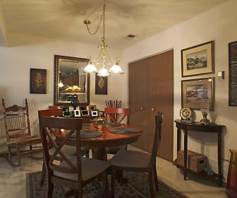 Dining Room, Lakeview Apartments