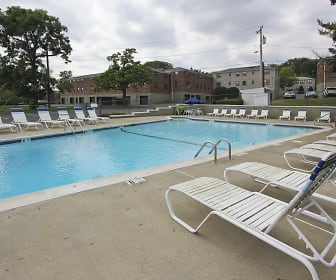 Pool, Loudon Arms Apartments