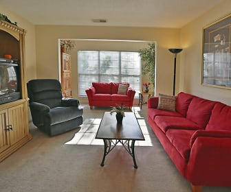 Living Room, Century Oaks Apartments