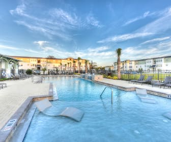 view of pool, Landing at St Augustine