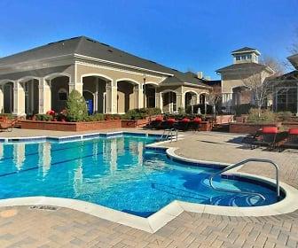Pool, Oakwood Apartments Raleigh Brier Creek