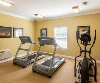 Fitness Weight Room, Parklane Apartments