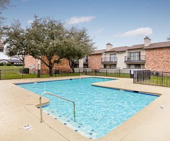 Pool, Meadows Apartments