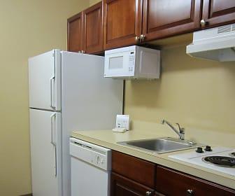 Kitchen, Furnished Studio - Phoenix - Airport - E. Oak St.