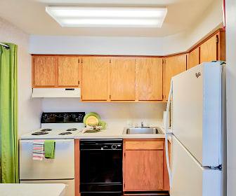 Kitchen, South Lake Apartments