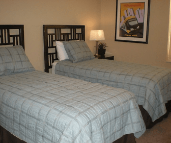 Bedroom, Oaks Station Place Apartments