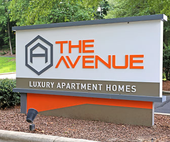 Community Signage, The Avenue Apartments