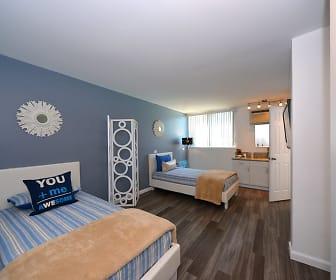 Meridian Pointe Apartments Magellan Model Bedroom, Meridian Pointe