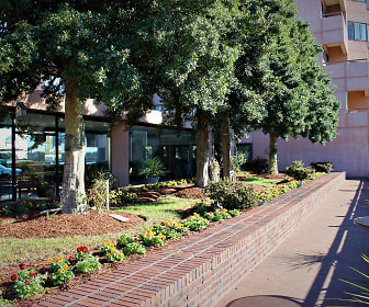 Garden Patio, Harbor Tower Apartments