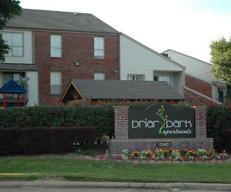 Community Signage, Briar Park Apartments and Townhomes