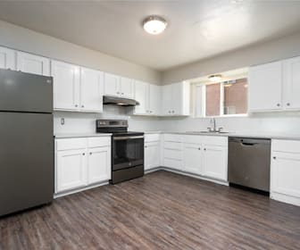 Kitchen, Pocatello Heights Apartments