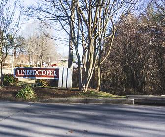 Community Signage, Timbercreek