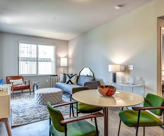 Living Room, Gateway Station Apartments
