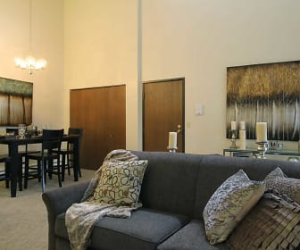 Living Room, Canterbury Apartments