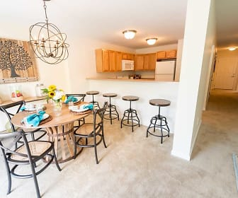 3 Bedroom Town Home Dining Area, Orchard Hills Landings.