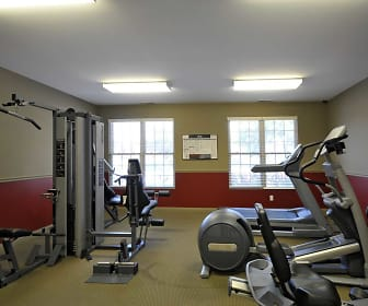 Fitness Weight Room, Indian Footprints