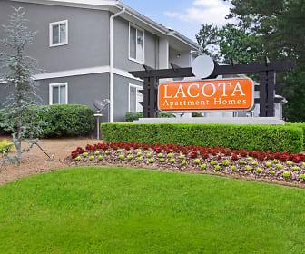 Community Signage, Lacota Apartments