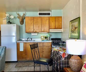 Kitchen, Spanish Trail Apartments