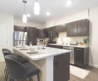 Kitchen, The Residences at Executive Park