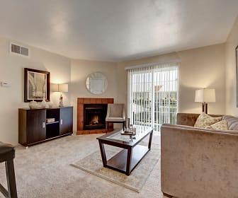 Living Room, High Plains Apartments