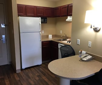 Kitchen, Furnished Studio - Fort Lauderdale - Cypress Creek - Park North