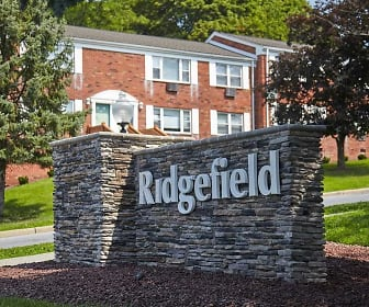 Community Signage, Ridgefield Apartments