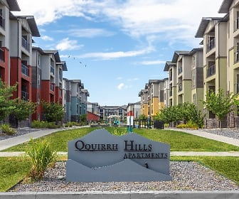view of property's community with a yard, Oquirrh Hills Apartments