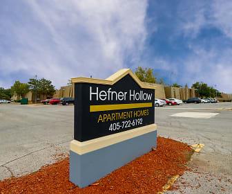 Community Signage, Hefner Hollow