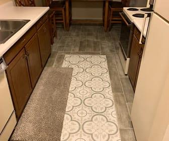 Kitchen, 4500 S Poplar St  Unit 106