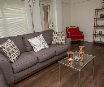 Living Room, 429 Apartments