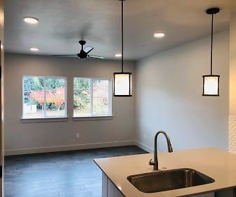 Kitchen, Mill Creek Residences