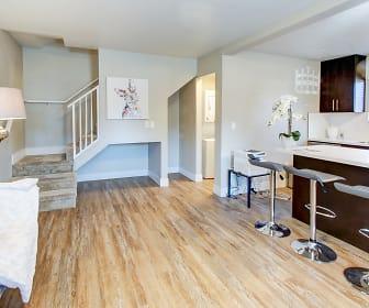 Living Room, Stratus Apartments