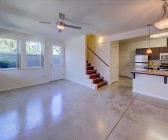Living Room, 330 N. Van Ness Cottages