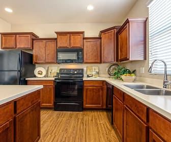 Kitchen, Luxury Townhomes at Park Tower