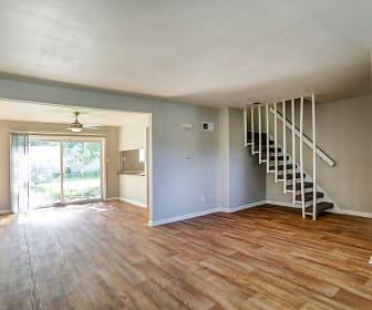 Living Room, Pelican Pointe Apartments