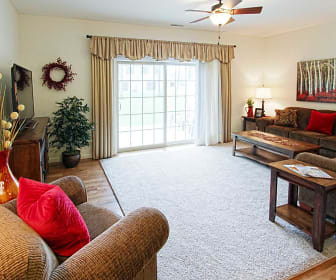 Living Room, Harrison Quarry Townhomes