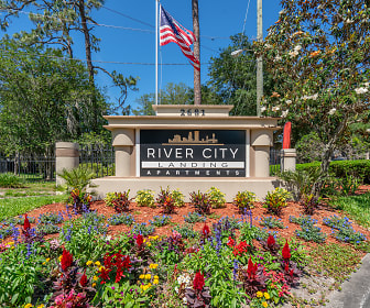 Community Signage, River City Landing