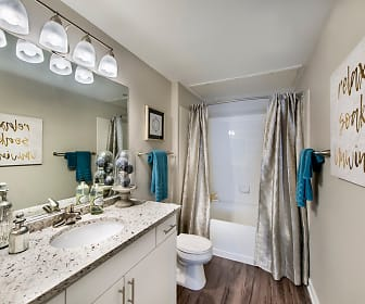 Bathroom, ArtWalk CityCenter
