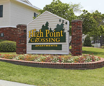 Community Signage, High Point Crossing