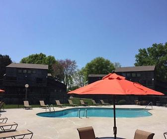 Pool, Woodgate Apartments