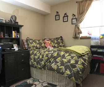 Bedroom, Washburn Place Apartments