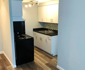 Kitchen, Windsor Apartments
