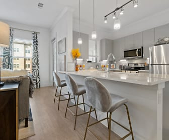Kitchen, The Luxe at Mercer Crossing