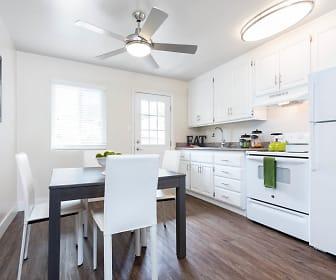 Kitchen, Mosaic Apartments