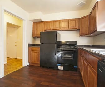 Kitchen, Wilshire Apartments