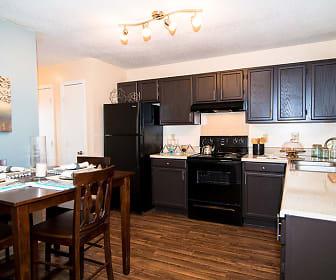Kitchen, Residences at Forestdale